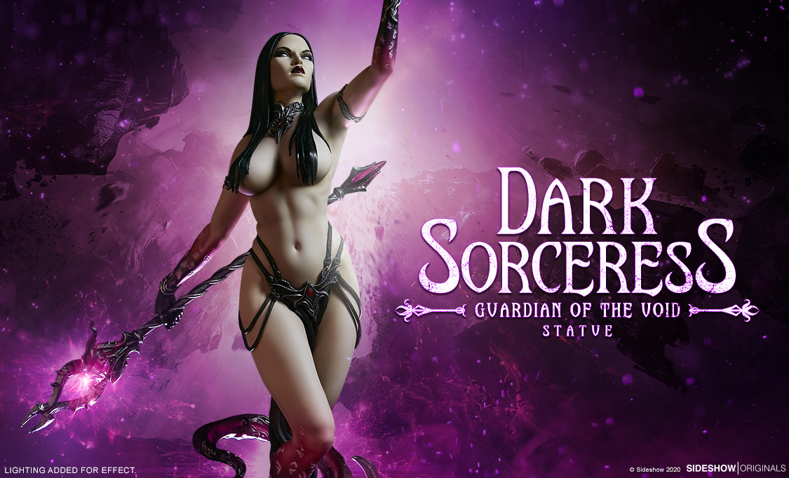 Dark Sorceress Statue